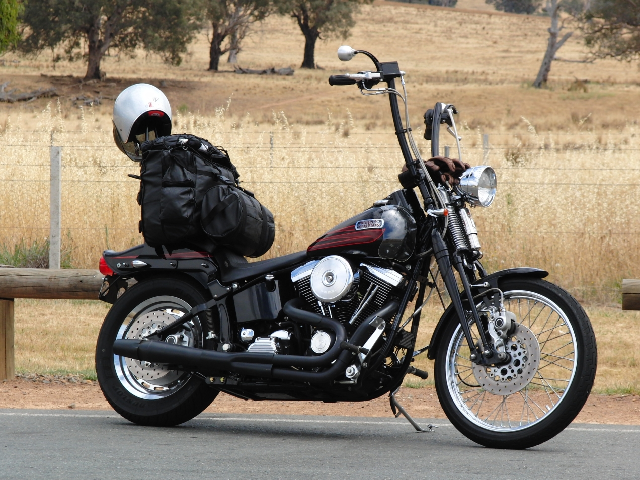 harley-davidson-softail-springer-1995-bad-boy-FXSTSB-evolution-1340-thunderheader-carlini-evil-apehangers-cycle-vision-tall-sissybar-joker-machine-mirrors-psalmistice_CIMG2054