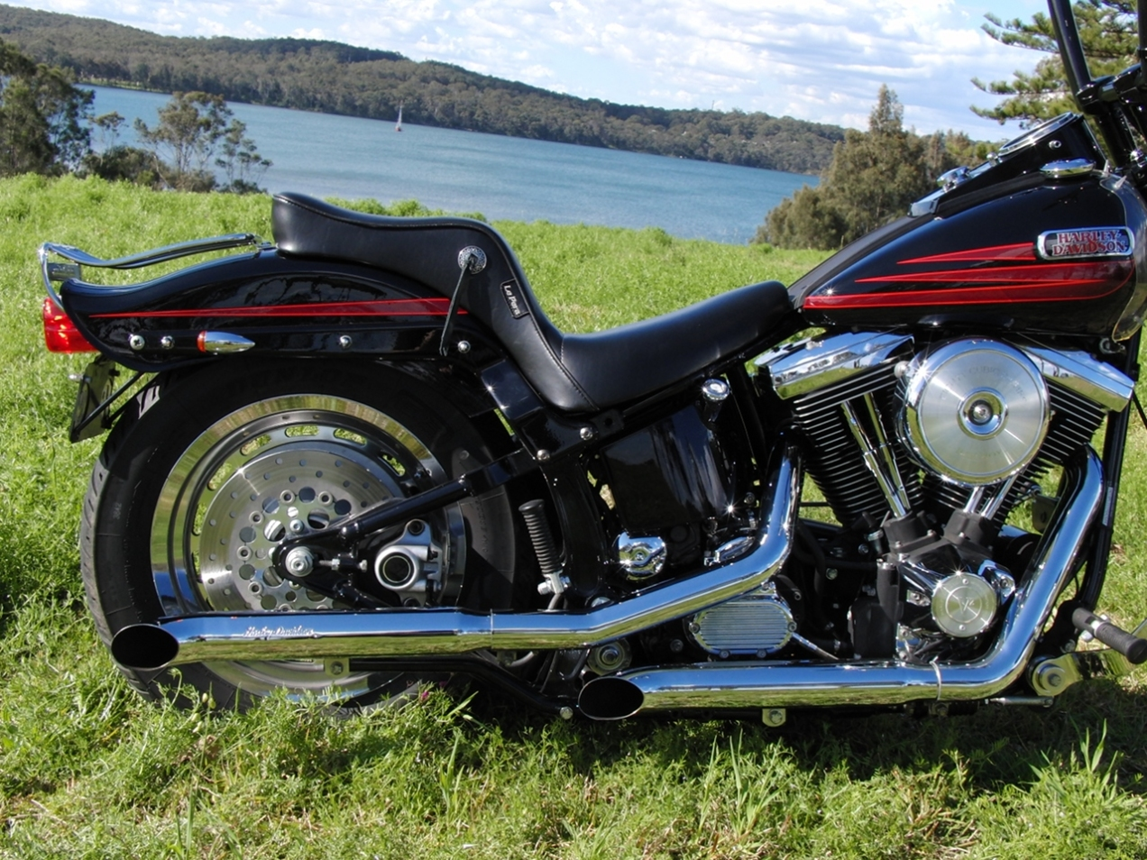 harley-davidson-softail-springer-1995-bad-boy-FXSTSB-evolution-1340-carlini-evil-apehangers-lepera-le-pera-cherokee-seat-jeremiah-watt-slotted-concho-joker-machine-mirrors-psalmistice_CIMG2842