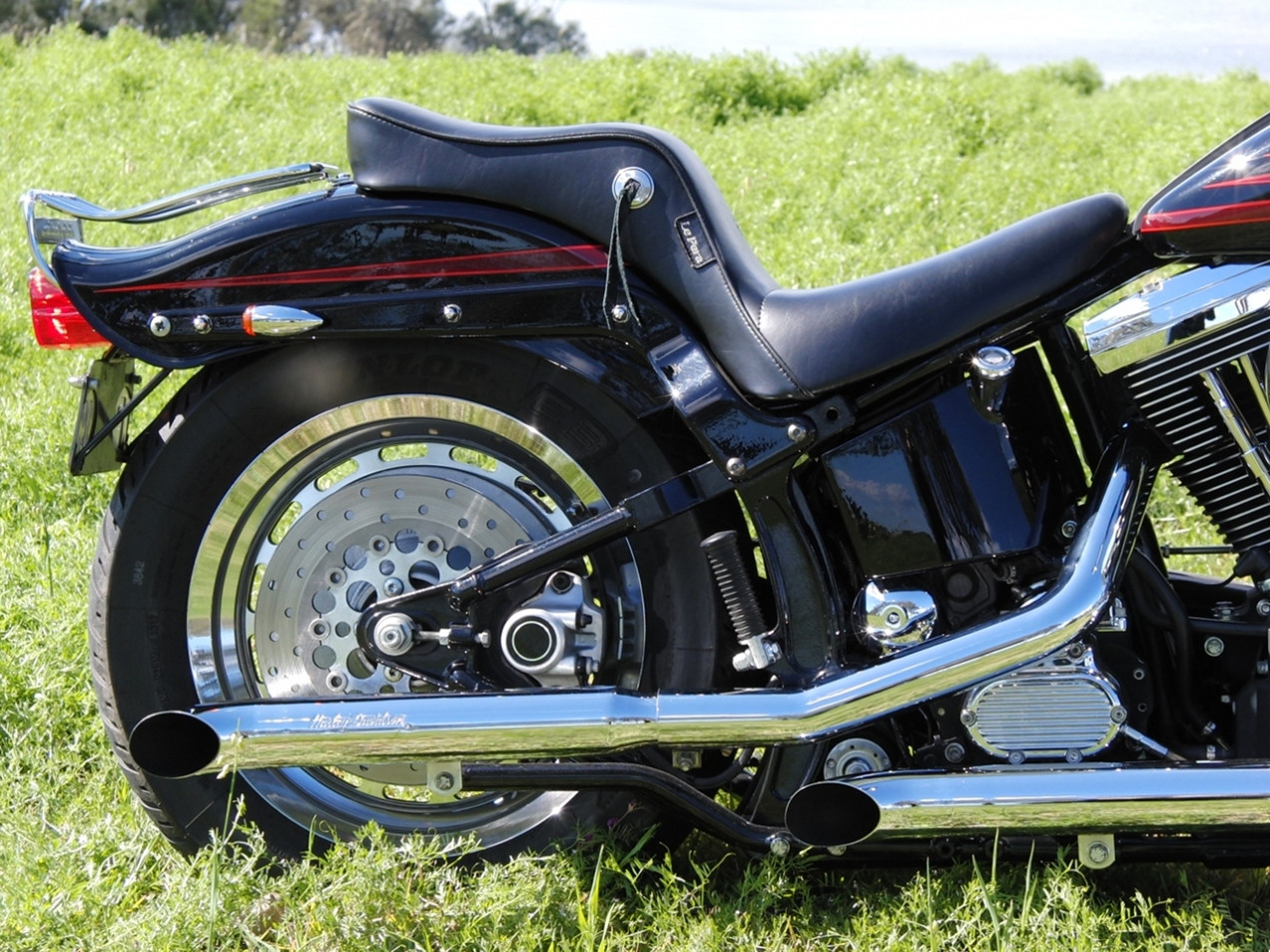 harley-davidson-softail-springer-1995-bad-boy-FXSTSB-evolution-1340-carlini-evil-apehangers-lepera-le-pera-cherokee-seat-jeremiah-watt-slotted-concho-joker-machine-mirrors-psalmistice_CIMG2831