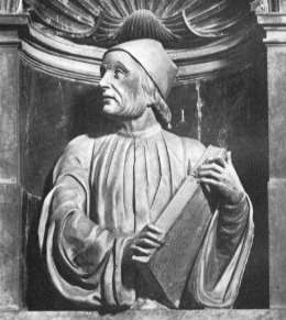 Bust of Ficino by Andrea Ferrucci in Florence Cathedral (Source: Wikipedia)