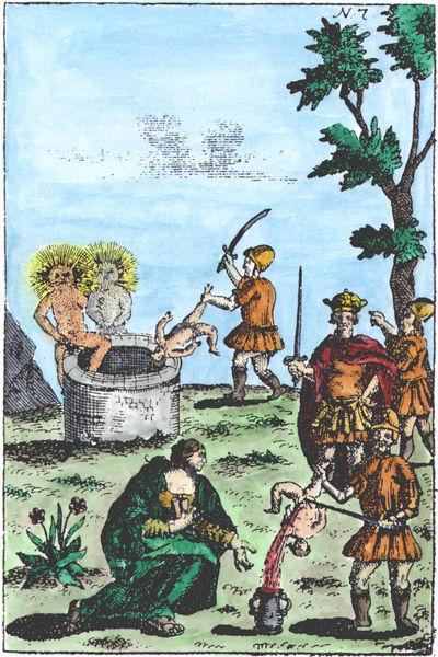 Abraham Eleazar, Uraltes chymisches Werck, 'Flamel', Erfurt, 1735_EL07