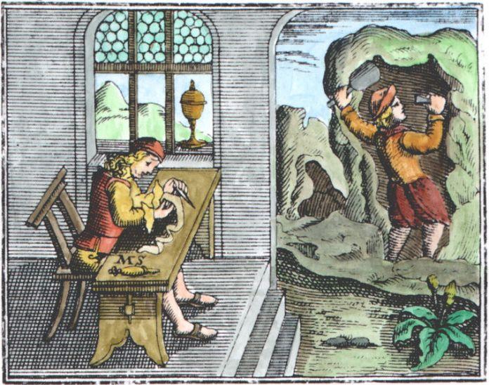 Andreas Orthelius' commentary on Sendivogius' Novum Lumen Chymicum (