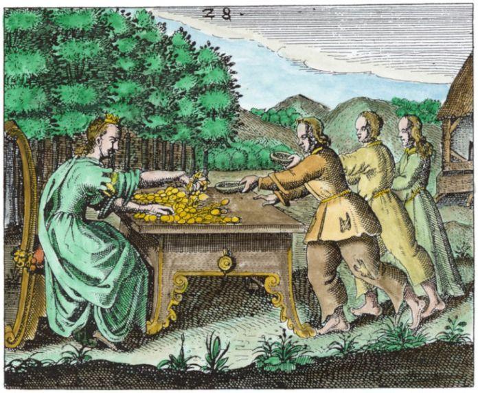 Engraving 28 from J.D. Mylius Philosophia reformata, Frankfurt, 1622
