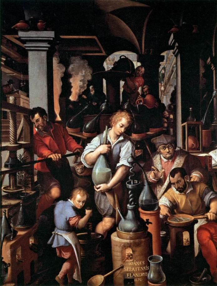 Francesco de Medici_Jan_van_der_Straet_-_An_Alchemist's_Laboratory_-_WGA21869