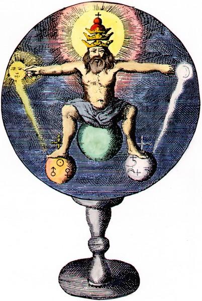 Frontispiece from Johann de Monte-Snyders, Metamorphosis planetarum, Amsterdam 1663