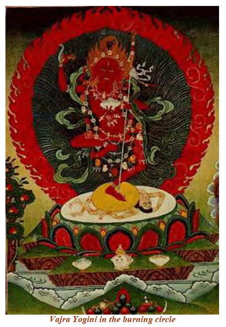 Vajra Yogini in the Burning Circle