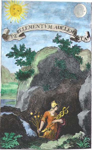 Engraving from Baro Urbigerus, Besondere chymische Schrifften, 1705_A129