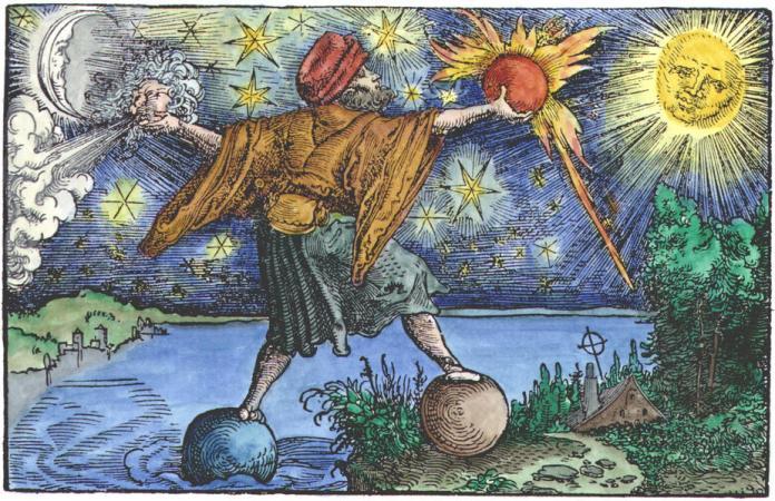 Woodcut from Petrarch, Das Glüchbuch, Augsburg, 1539