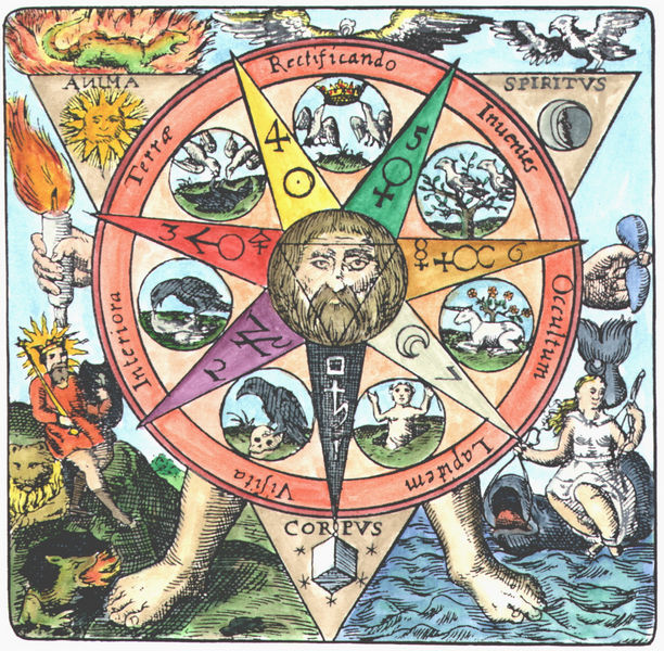 Basil Valentine, L'Azoth des Philosophes, Erfurt, 1659_VA12